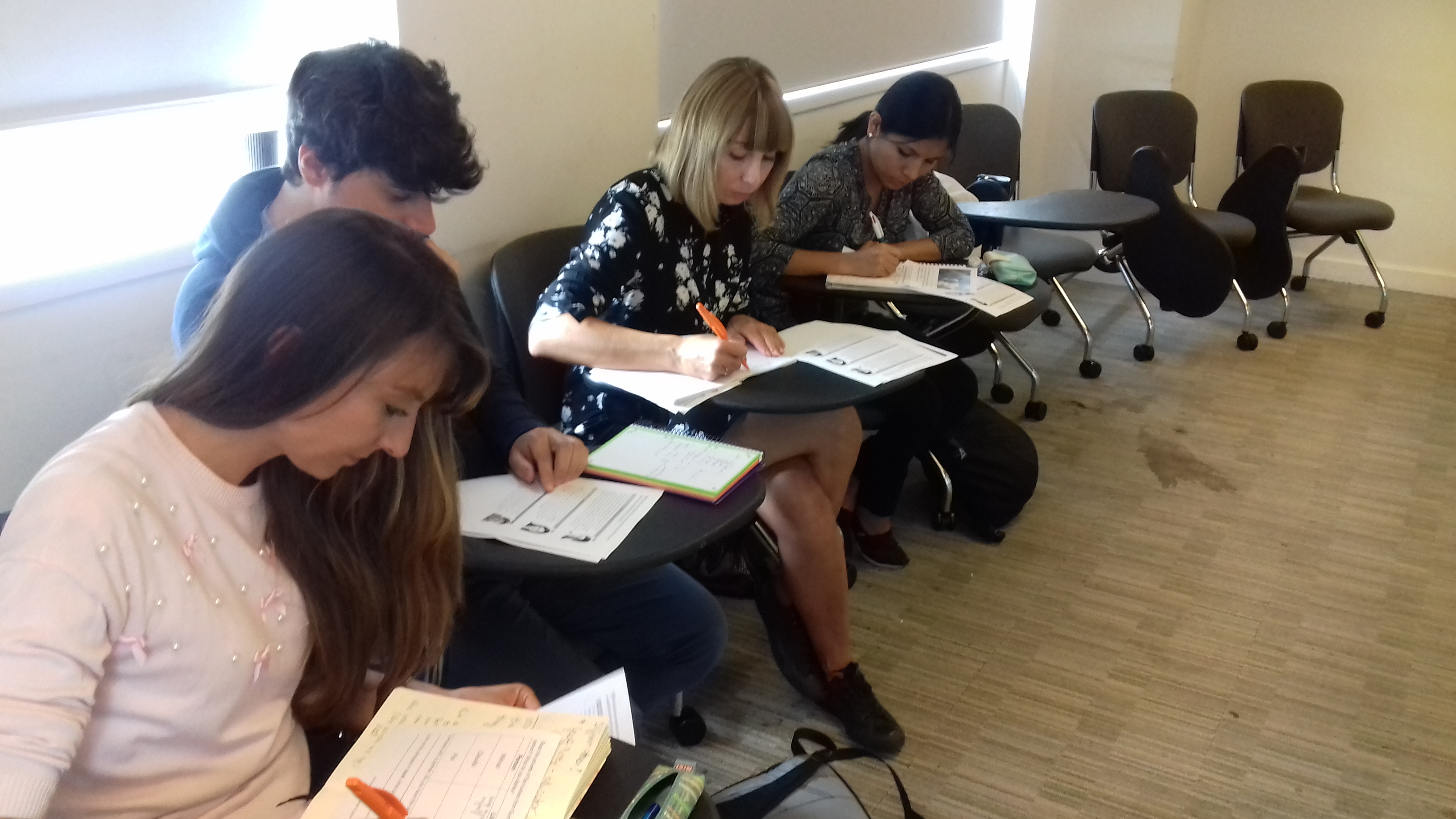 zajęcia w grupie kursowej