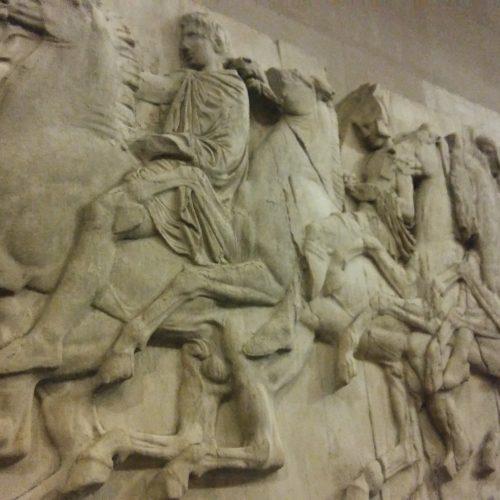 fragment Partenonu w British Museum