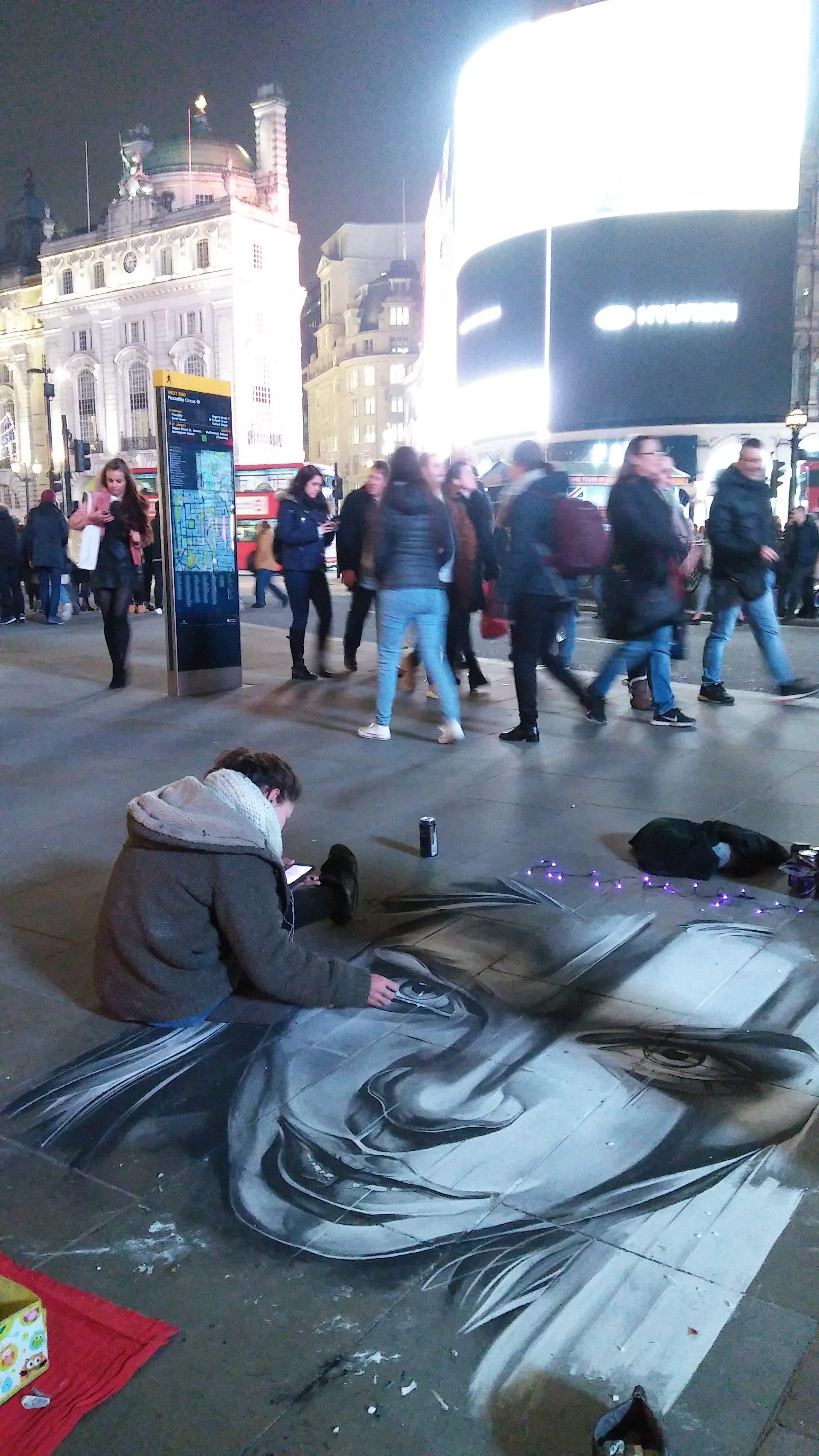 uliczni artyści