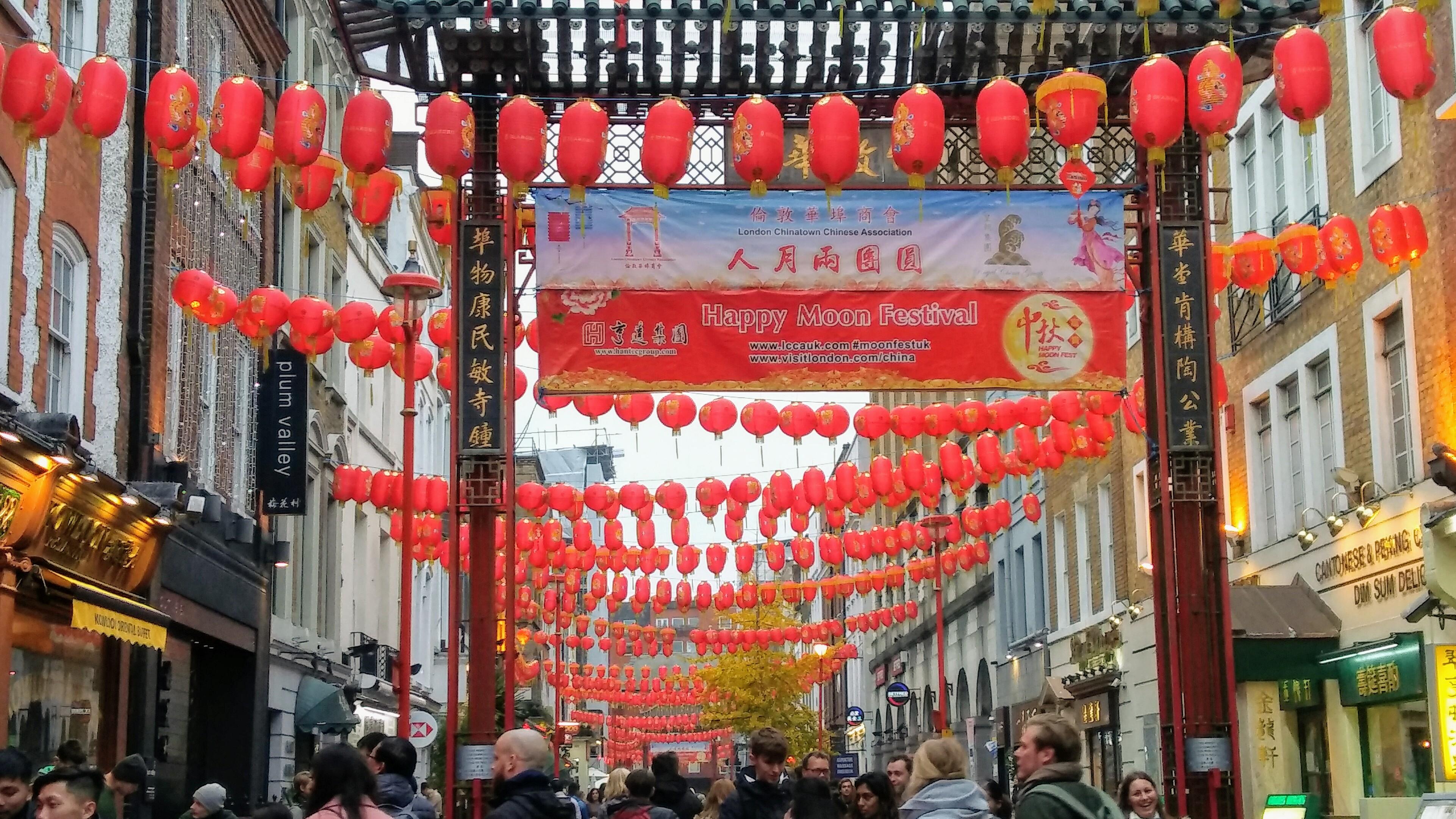 chińska dzielnica w Londynie