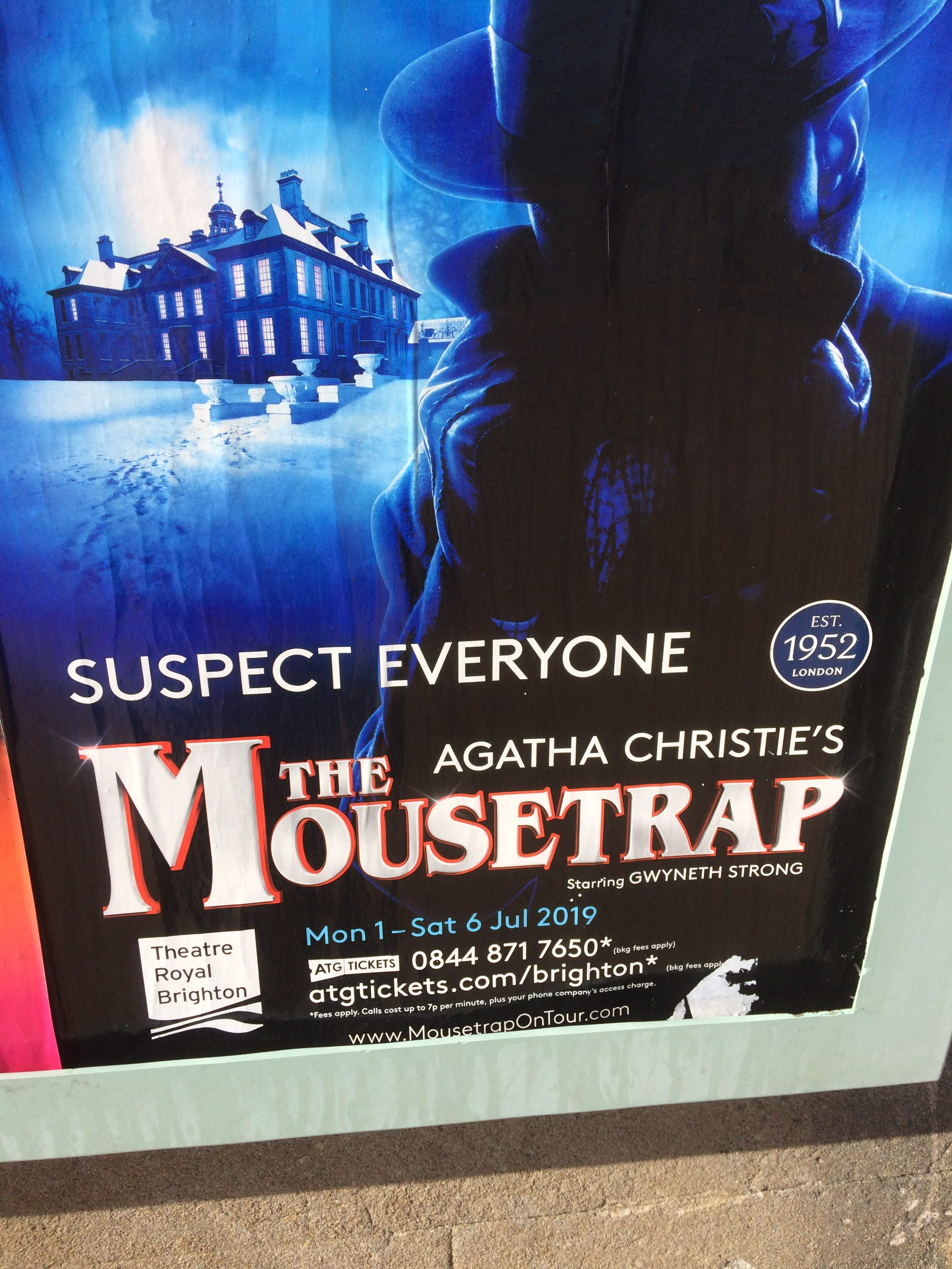 Mousetrap w Royal Theatre