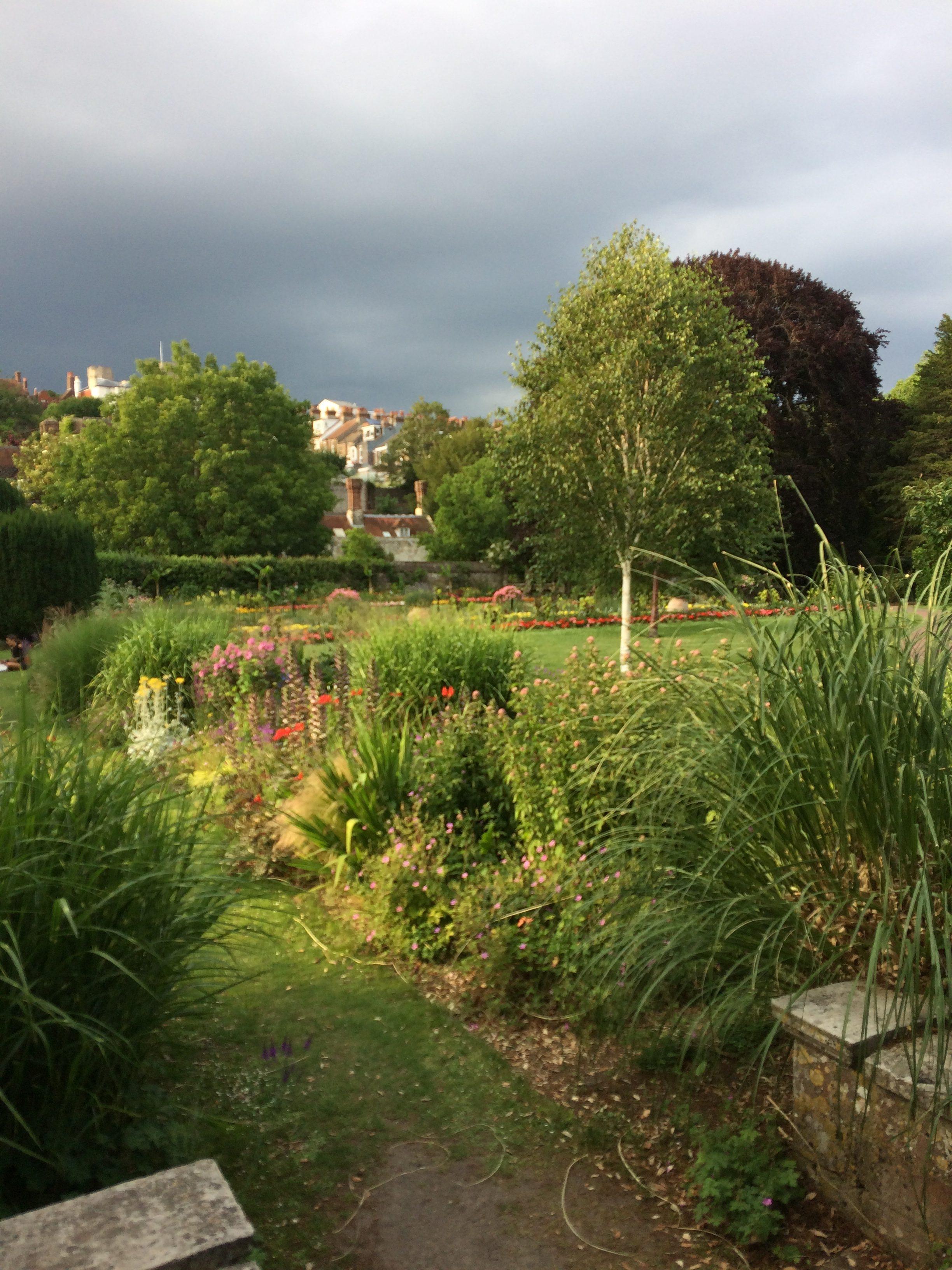 angielski ogród w Lewes